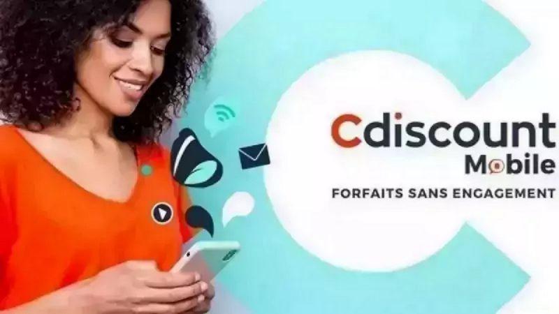 Cdiscount Mobile propose un forfait 200 Go en promotion à moins de 10 euros