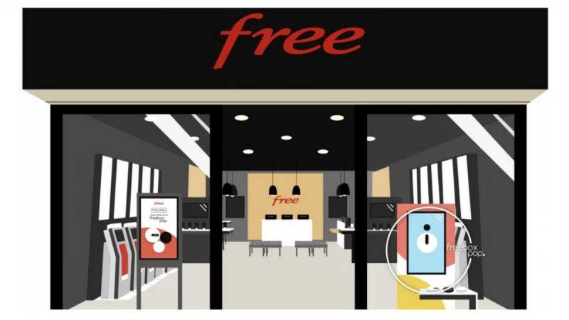 Free annonce l'ouverture à venir d'une nouvelle boutique
