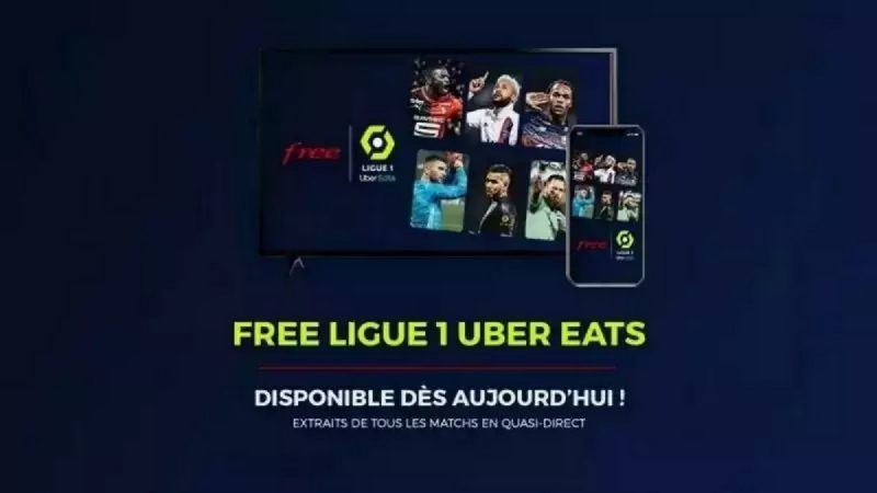 Free Ligue 1 Uber Eats : l'application 100 % foot s'améliore sous Android