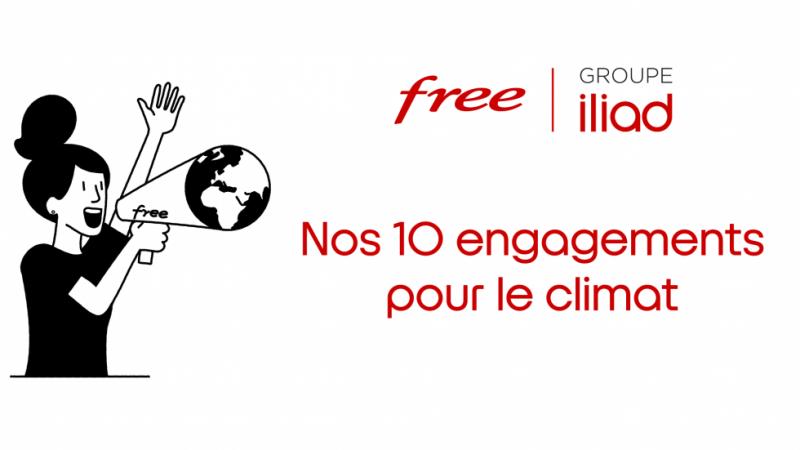 Iliad/Free présente ses 10 engagements pour l'environnement