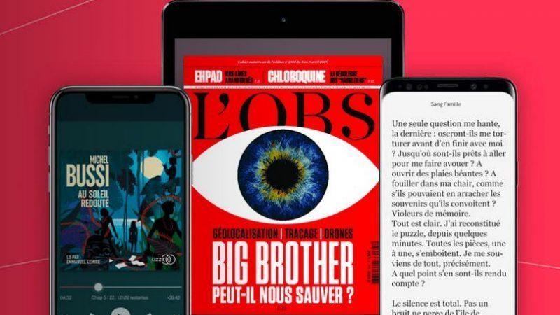 Youboox Premium pour les abonnés Free, le service de lecture en streaming s'améliore avec des nouveautés