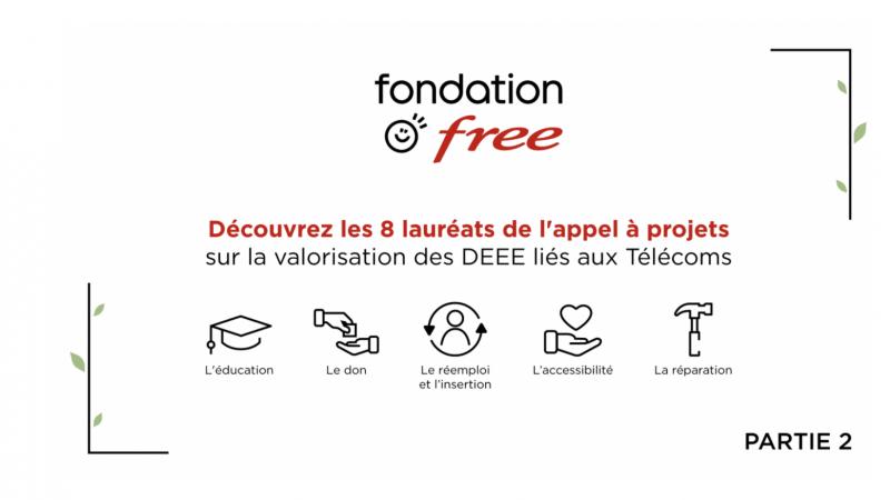 Découvrez les derniers projets orientés écologie et télécoms retenus par la Fondation Free