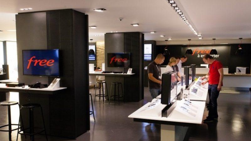 Free annonce l'ouverture d'une nouvelle boutique demain, la 111e en France