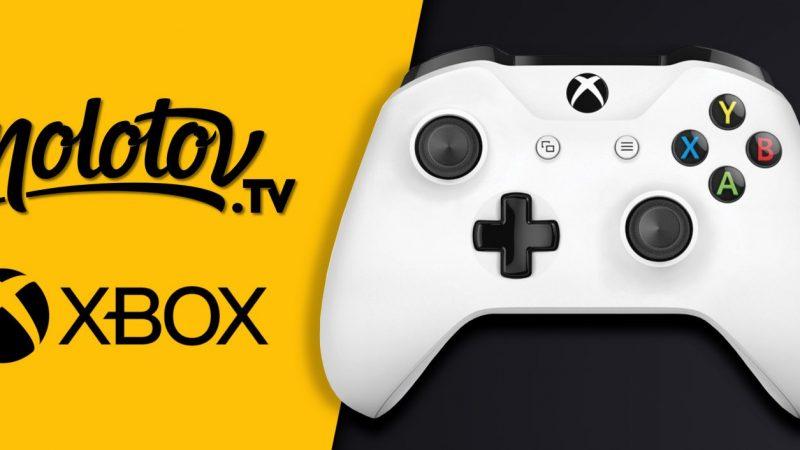 Molotov TV est disponible sur Xbox One et les consoles Next Gen de Microsoft