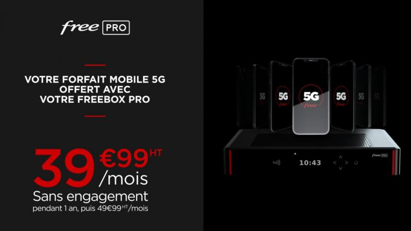 Free lance sa Freebox et son forfait mobile Pro, révolution sur les prix