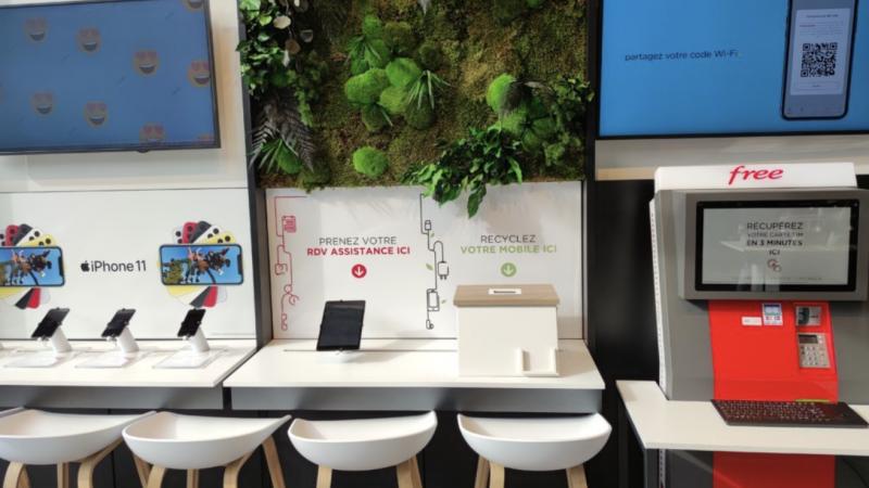 Free affiche sa volonté d'installer des boîtes de collecte de mobiles dans toutes ses boutiques