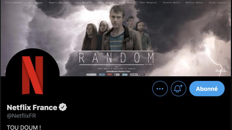 Clin d'oeil : Netflix offre sa bannière Twitter pour faire la promo de vos projets audiovisuels persos, Canal+ tente sa chance