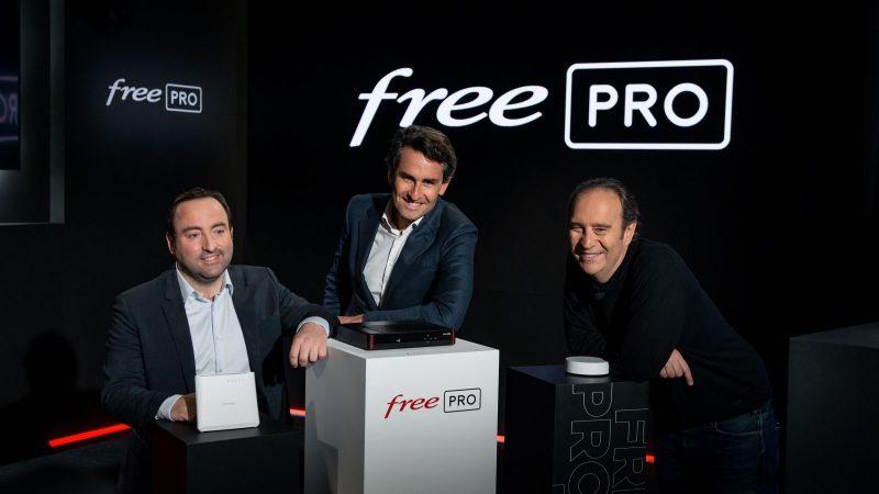 Free Pro revendique 6000 clients depuis son lancement, le CAC 40 intéressé