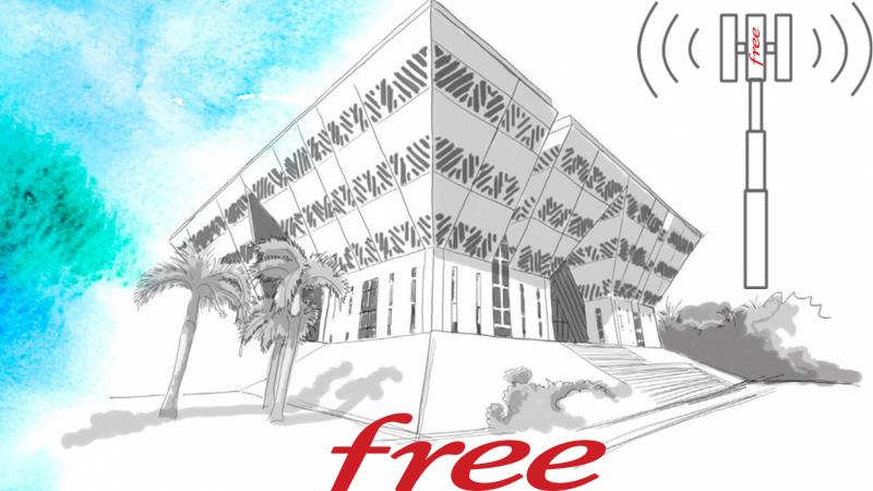 La région Réunion met a disposition une parcelle à Free Réunion (TELCO OI)