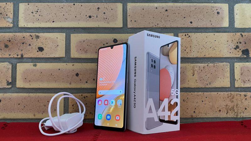 Samsung Galaxy A42 5G : test du smartphone XXL à moins de 400 euros disponible chez Free Mobile
