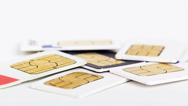 Insolite : quand la carte SIM se retrouve dans votre salle de bain