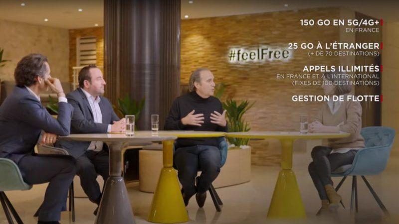 Free Pro 5G : comparatif avec les offres professionnelles d'Orange, Bouygues et SFR