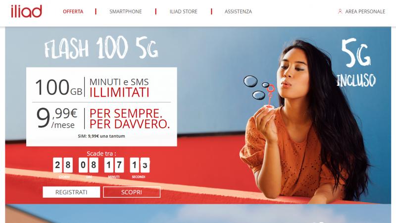 """Iliad lance un forfait 5G """"sensationnel"""" en Italie, à rendre jaloux les abonnés Free Mobile"""