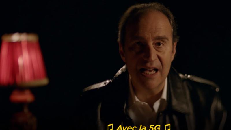 """Clin d'oeil : découvrez le nouveau tube inédit de Xavier Niel, """"Avec la 5G"""""""