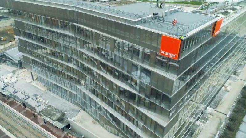 Bridge : découvrez le nouveau siège d'Orange, innovant, connecté à la 5G et paré pour le monde d'après
