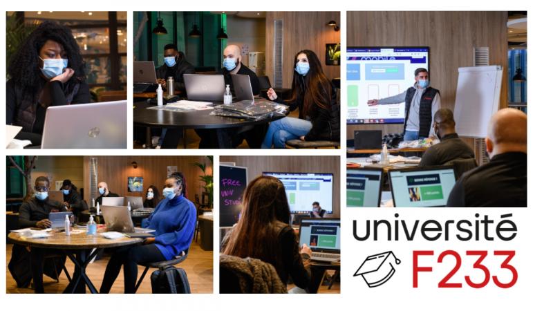 Iliad/Free lance son Université, baptisée F233