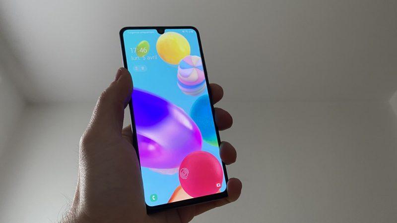 Test du Samsung Galaxy A41 disponible chez Free Mobile