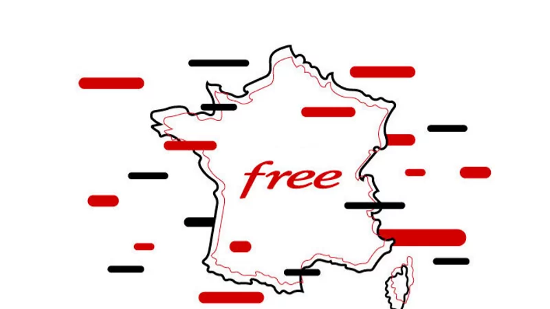 Free met à jour sa carte de couverture 3G/4G/5G