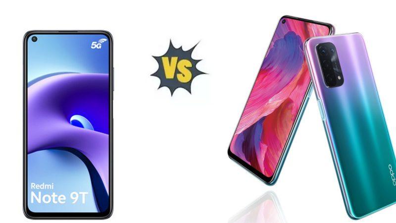 Choc des smartphones 5G à petit prix chez Free Mobile : Xiaomi Redmi Note 9T ou Oppo A54 ?