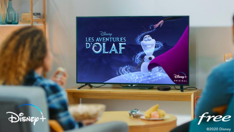 Free annonce offrir 6 mois d'abonnement à Disney+ aux abonnés Freebox mini 4K