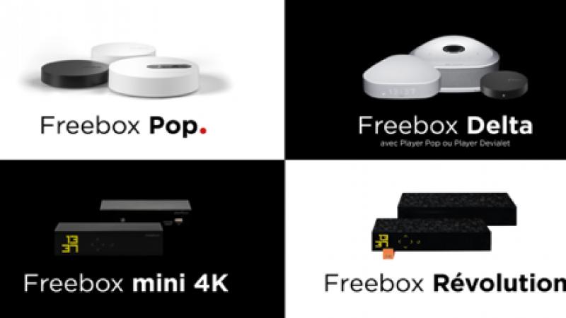 Free lance une nouvelle mise à jour du serveur des Freebox Delta, Pop, Révolution, mini 4K et One, avec de nombreuses améliorations et corrections