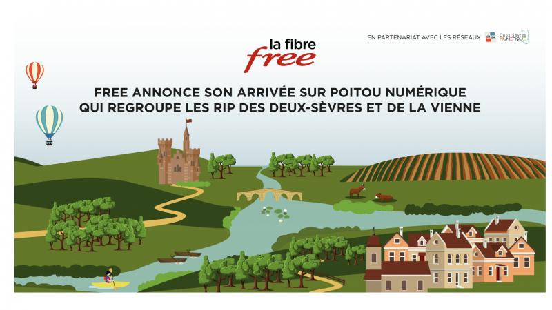 Free officialise le lancement de ses offres fibre sur deux nouveaux réseaux