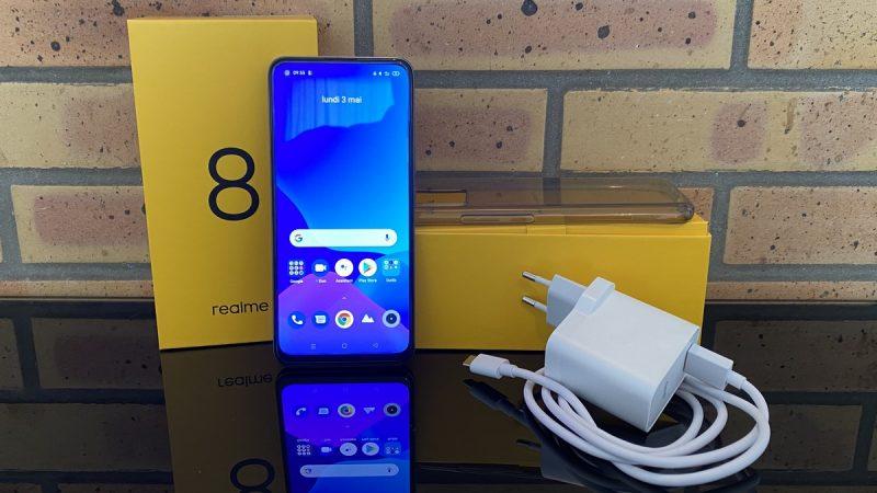 Test du Realme 8 : un smartphone vraiment intéressant pour les petits budgets