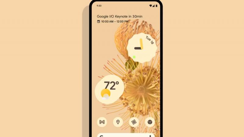 Google dévoile son nouvel Android 12 avec une interface totalement revisitée
