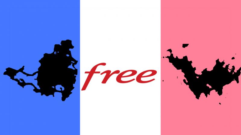 Free active son réseau à St Martin et à St Barthélemy