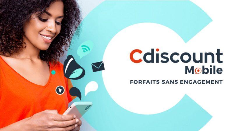 Cdiscount Mobile dégaine des forfaits 60 et 100 Go en promotion à moins de 5 euros