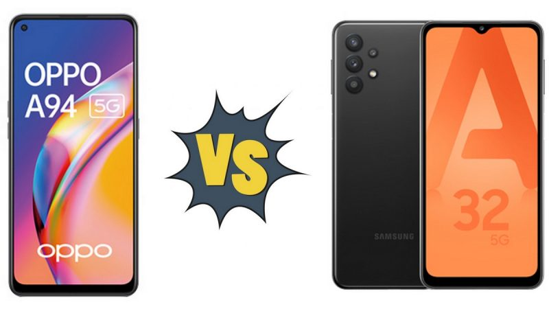Choc des smartphones chez Free Mobile : Oppo A94 5G ou Samsung Galaxy A32 5G ?