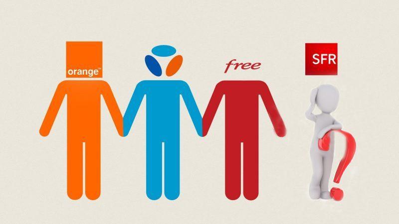 Orange, Free, Bouygues mais pas SFR, comparatif des gains d'abonnés fixes et mobiles au 1er trimestre