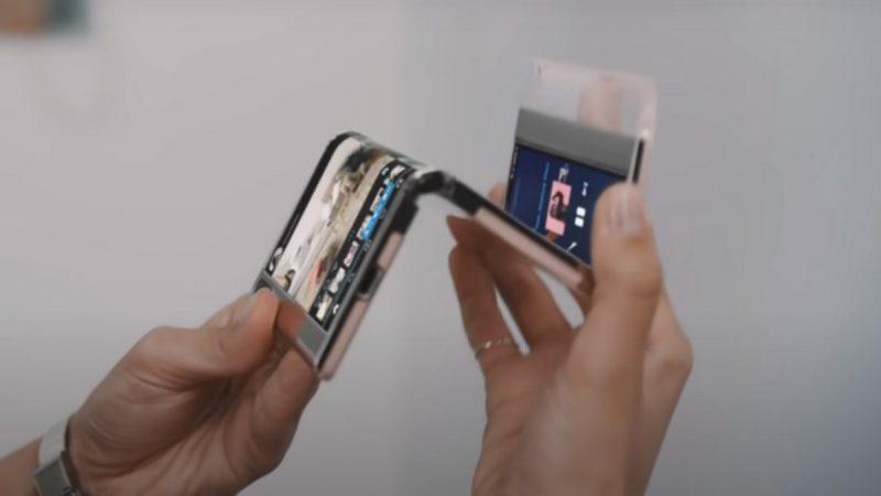 Samsung montre l'avenir des écrans souples dans les smartphones