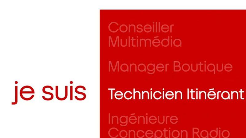 Free présente ses métiers : focus sur les techniciens itinérants
