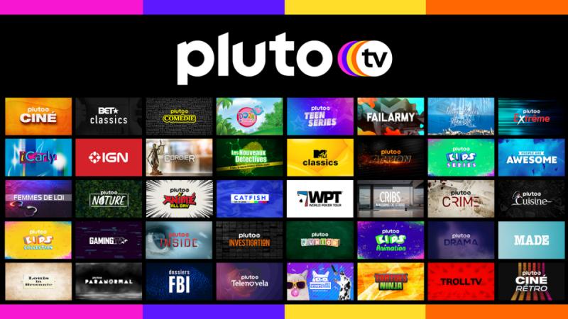 Pluto TV débarque sur les Smart TV de LG avec de nombreuses chaînes