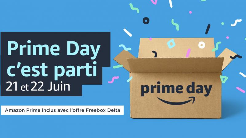 Abonnés Freebox Delta : c'est parti pour l'Amazon Prime Day