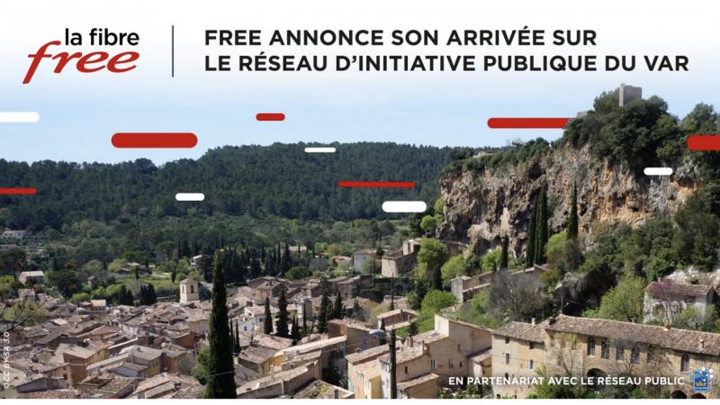 Free officialise le lancement de ses offres Freebox en fibre optique sur un réseau d'Orange
