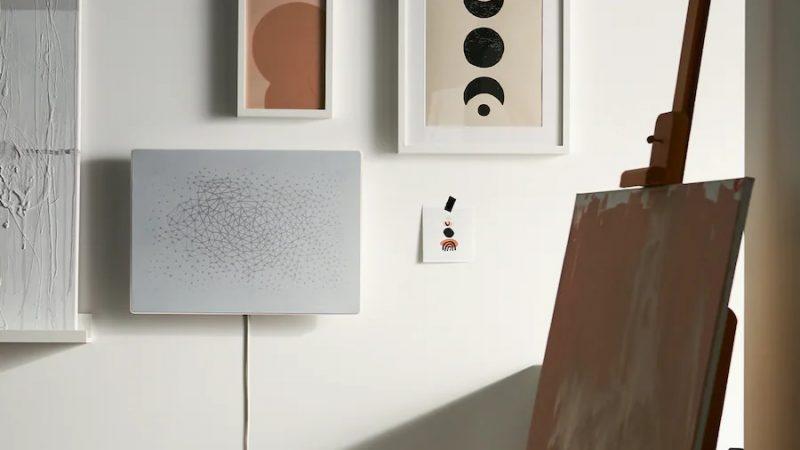 Sonos etIkeaprésentent une nouvelle enceinteWi-Fi originalesous forme de tableau