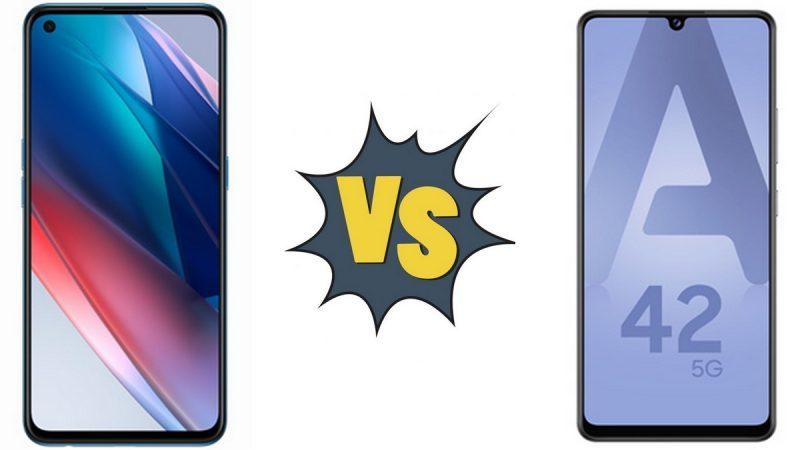Choc des smartphones vendus par Free Mobile : Oppo Find X3 Lite ou Samsung Galaxy A42 5G ?