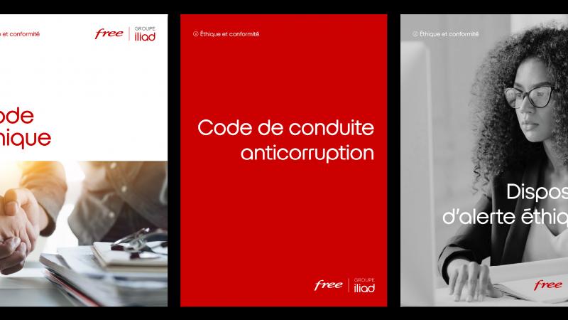 """Iliad-Free renforce son dispositif d'alerte éthique et lance un """"code de conduite anticorruption"""""""