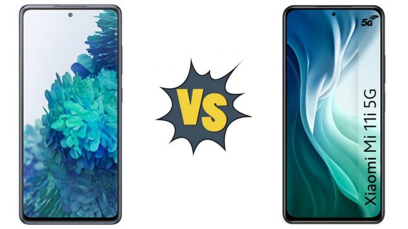Choc des smartphones 5G chez Free Mobile : Samsung Galaxy S20 FE 5G ou Xiaomi Mi 11i 5G ?