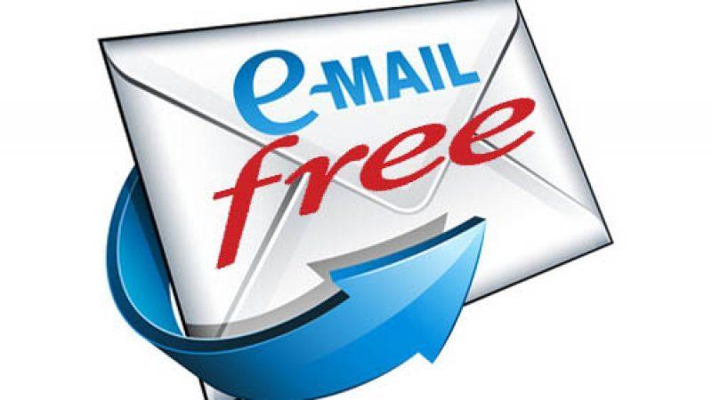 Free envoie un mail à ses abonnés pour leur annoncer une semaine offerte sur un des services SVOD de la Freebox