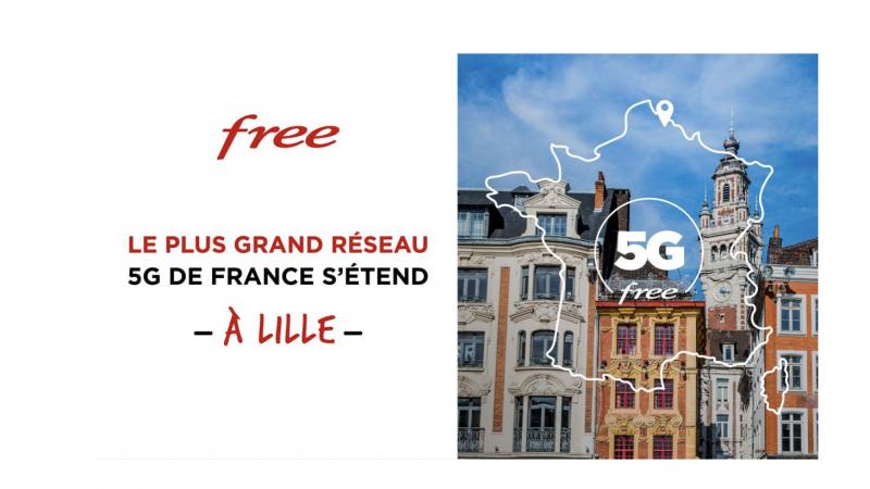 Free annonce enfin l'allumage de sa 5G à Lille