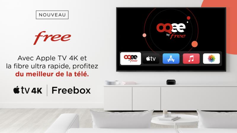 Lancement d'un outil de suivi des commandes de l'Apple TV 4K pour les abonnés Freebox