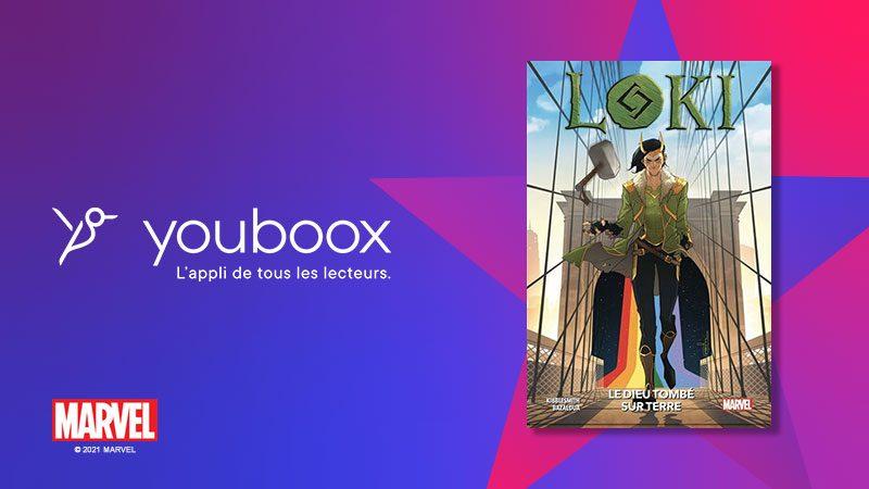 Lancement du concours Univers Freebox – Youboox en partenariat avec Marvel et Panini