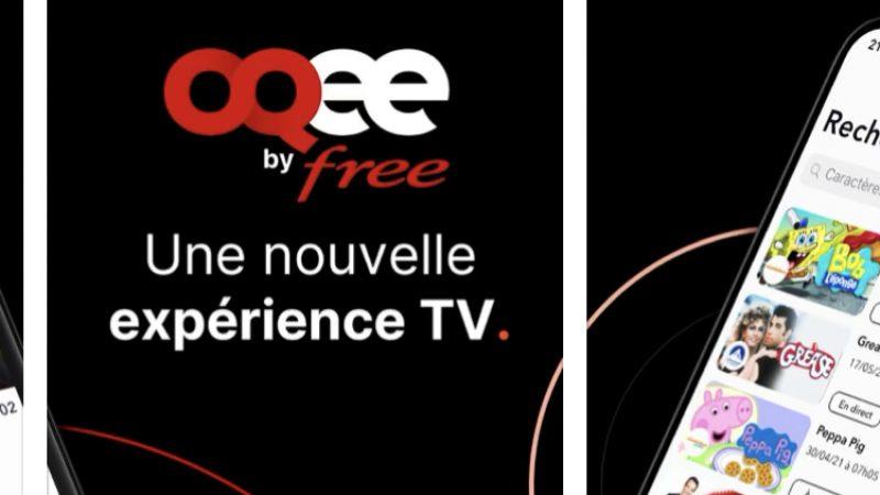 Free : l'application Oqee sur mobile est disponible, Freebox TV débarque dans vos poches mais aussi sur l'Apple TV