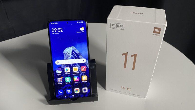 Test du Xiaomi Mi 11i disponible chez Free Mobile : notre avis sur ce smartphone haut de gamme