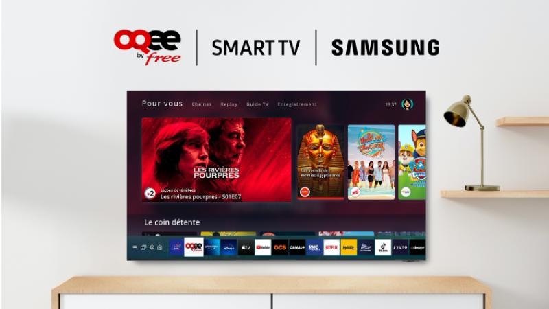 Free lance une nouvelle mise à jour d'Oqee sur Smart TV avec des améliorations