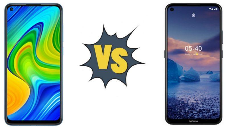 Choc des smartphones chez Free Mobile : Xiaomi Redmi Note 9 ou Nokia 5.4 ?