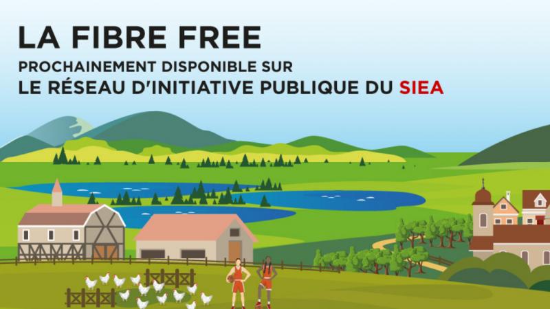 Free commence à lancer ses offres fibre dans une nouvelle zone comme prévu
